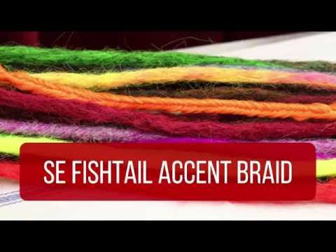 How To Make An SE Fishtail Accent Braid - DoctoredLocks.com