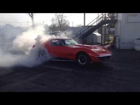 The 10 Second Trip Corvette Burnout (2)