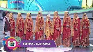 NGAKAK! Merah Memang Meriah Qosidah Rahmaisyah Bikin Ngakak Semua Juri | Festival Ramadan 2018