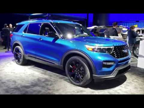 2020 Ford Explorer ST Review & Walk Around