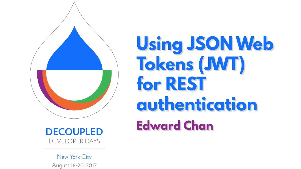 Using JSON Web Tokens (JWT) for REST authentication