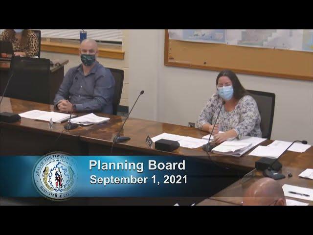 Planning Board 9-1-21