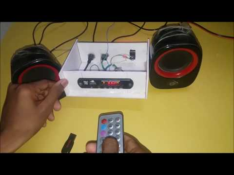 How to convert a Home Theater to wireless ( Bluetooth with USB & FM )