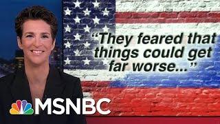 Russian Election Hacks Took US To Brink Of Cyberwar: Report | Rachel Maddow | MSNBC