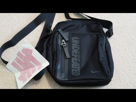 Undefeated x Nike Tech Side Bag/Shoulder Bag Unboxing