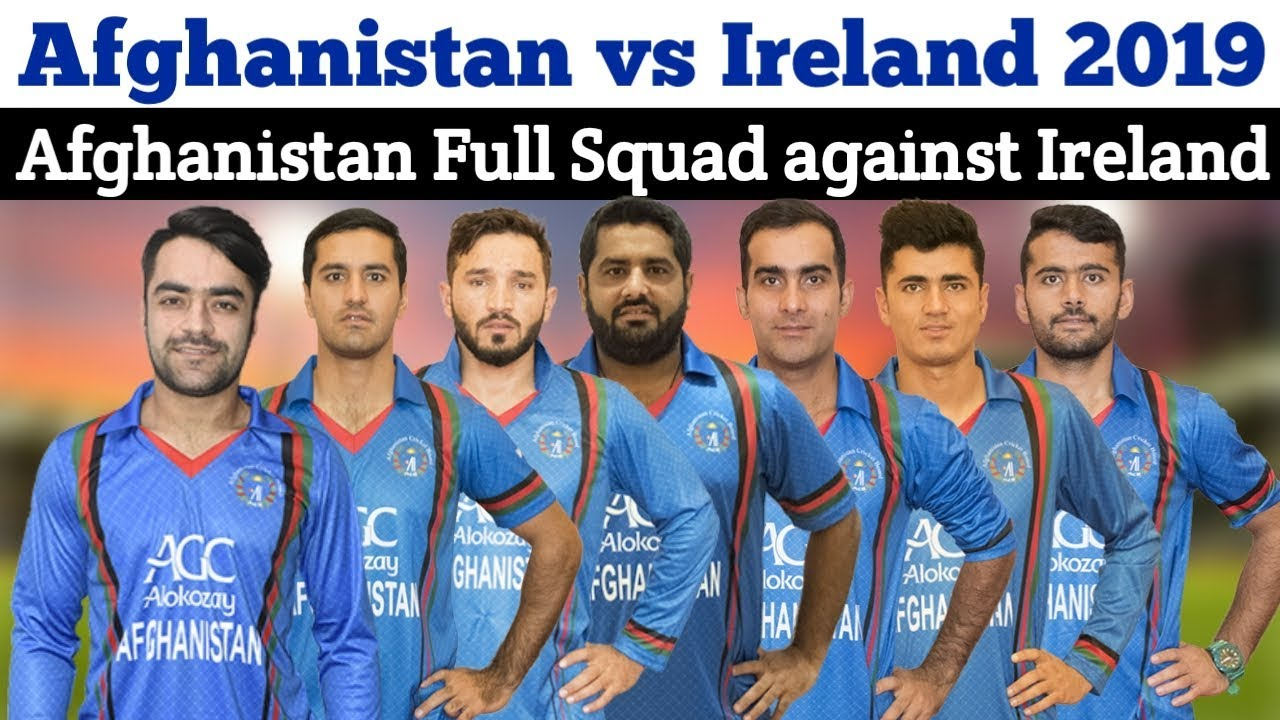 Ireland Vs Afghanistan: Afghanistan Full And Final Squad Against Ireland In Odi