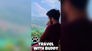 Travelling With My Buddy ❤   Hill Station    Cutie Pie    Dog Lovers   Love Status❤ #shorts