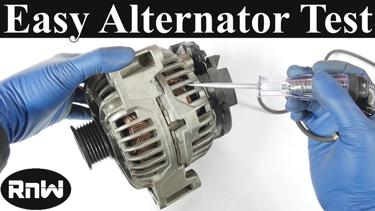 How To Test An Alternator Plus Works Youtube Diesel Generator Wiring Diagram Charging
