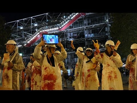 Halloween Paris 2017 - Action L214