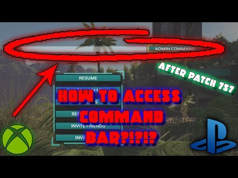 ARK - HOW TO ACCESS THE ADMIN COMMAND BAR - USE CONSOLE COMMANDS! - (Ark Tutorial)