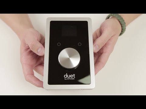 Apogee Duet For IPad And Mac - Unboxing And Overview
