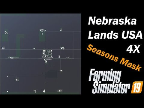 Farming Simulator 19 - Map First Impression - Nebraska Lands