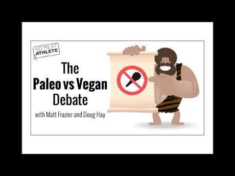 The Paleo vs Vegan Debate: No Meat Athlete Radio