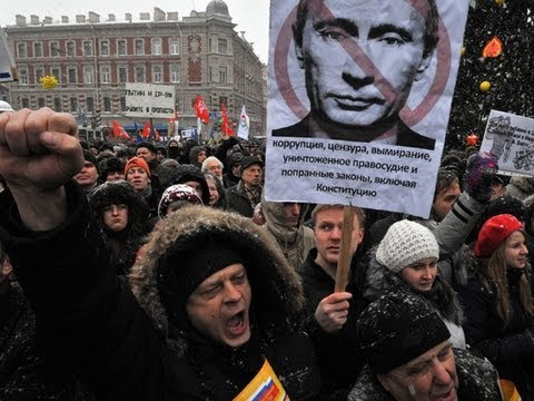 Russian Protesters Against Putin