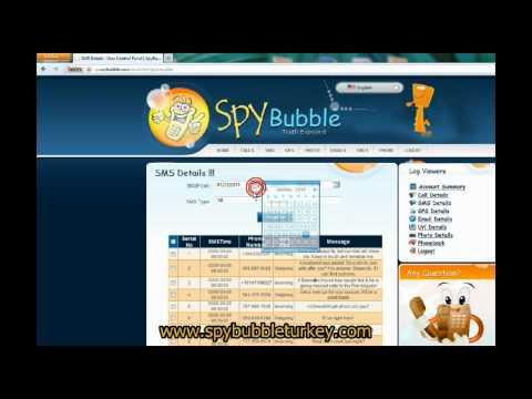 SpyBubble Standart Paket Demo Sayfası Anlatımı