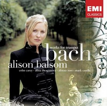 Alison Balsom - Bach works for Trumpet