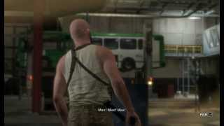 Max Payne 3 - PC Gameplay on HD 6480G