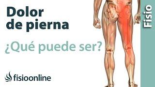 Dolor las ¿La ciática causa por noche? piernas en la