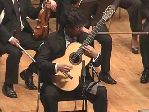 Rodrigo: Concierto de Aranjuez. OFUNAM 2013, Jan Latham-Koenig, Director, Pablo Garibay, guitarra