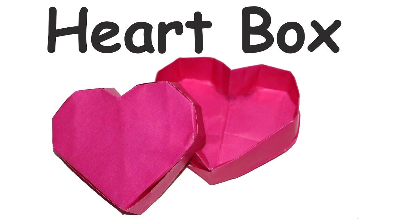 Valentine S Day Gift Ideas Heart Box Diy Heart Box Diy Paper