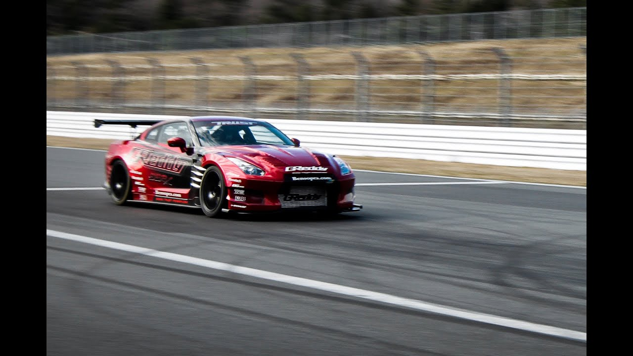 Greddy 35rx Gt R Fuji Speedway Top Speed Challenge Youtube