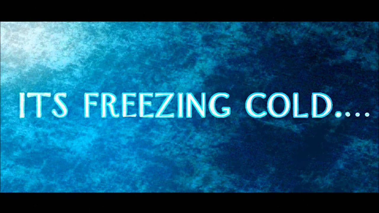 Its Freezing Cold - Frozen Text - After Effects - YouTube