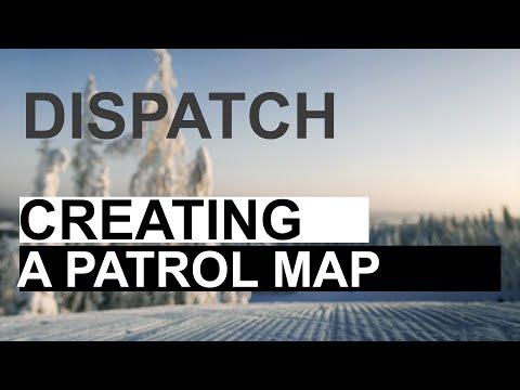 Creating a ski patrol resort map in Google Map Maker