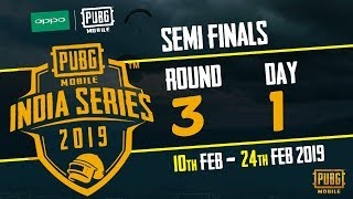 OPPO x PUBG MOBILE India Series 2019 | Semi Finals | Day 1 ft.  BlackClue Gaming