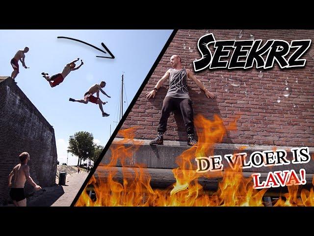 DE VLOER IS LAVA! Freerun challenge!