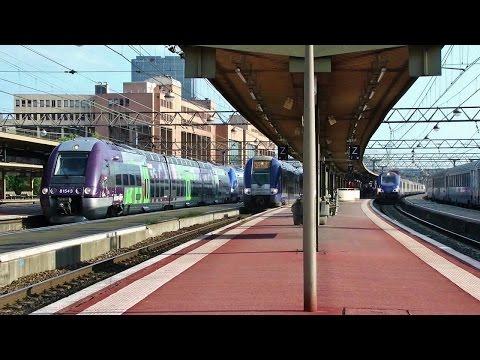 Gare SNCF  Lyon Part Dieu Station  TGV, TER & Fret +80 trains!