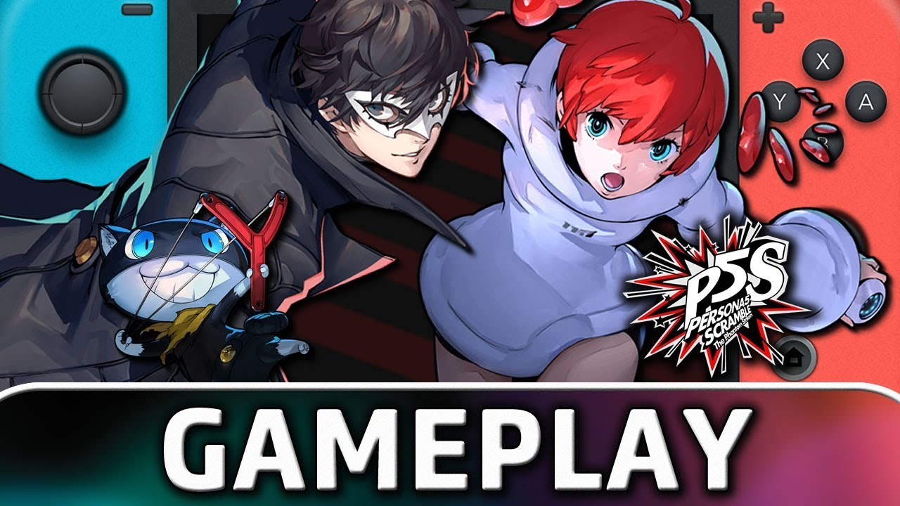 Persona 5 Scramble: The Phantom Strikers | 10 Minutes of Gameplay on Nintendo Switch