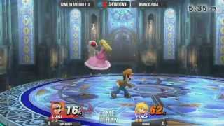 Come on and Ban #13 - Winner Ro64: SuperOven (Luigi) vs Nomad (Peach)