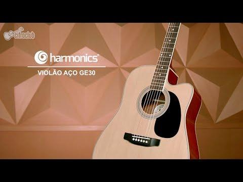 Review Harmonics | Violão GE-30