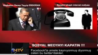 Başbakan Erdoğan'dan Şok Ses Kaydı