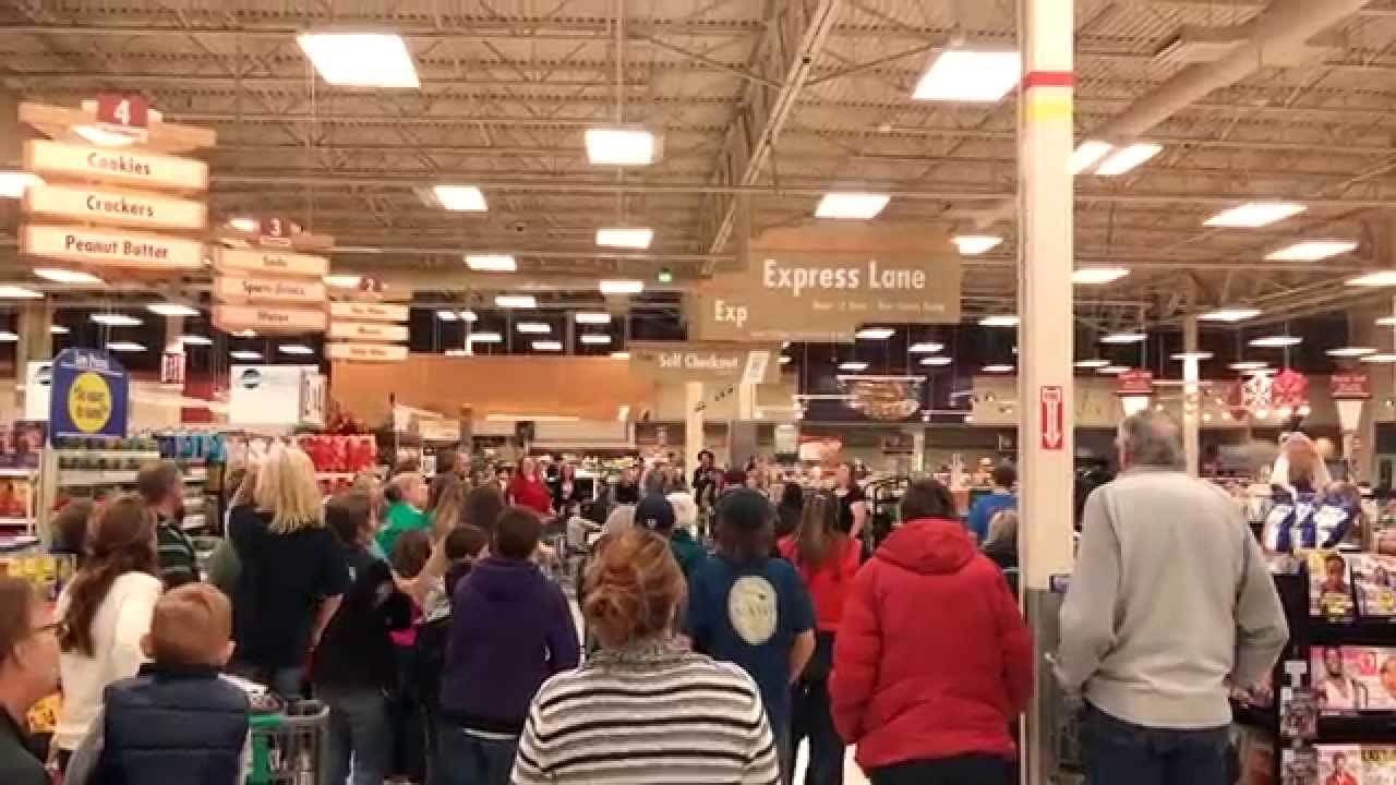 flash mob at fred meyers - Fred Meyers Christmas Hours