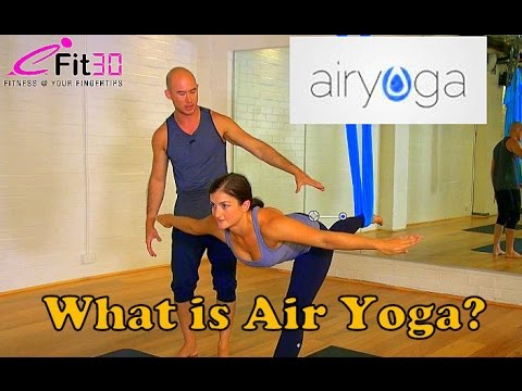 What is Air Yoga?  Intermediate Demonstration