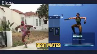 Fortnite Saison 3 - Dances In Real Life (VS) All Dances 'NEW ' Ft: The Robot, Take the L
