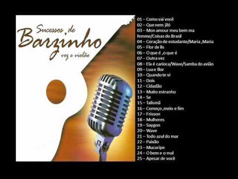 Sucessos de Barzinho - MPB - Voz e violão - Ao vivo - Vol02