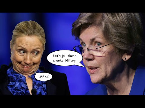 Elizabeth Warren Urges Hillary Clinton to Send Her Wall Street Friends to Jail