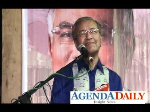 Tun M Ulas Jam Omega Anwar Ibrahim