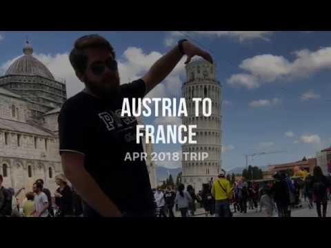 Austria, Italy and France Trip
