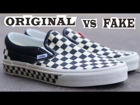 Vans Slip On Checkerboard Sidewall