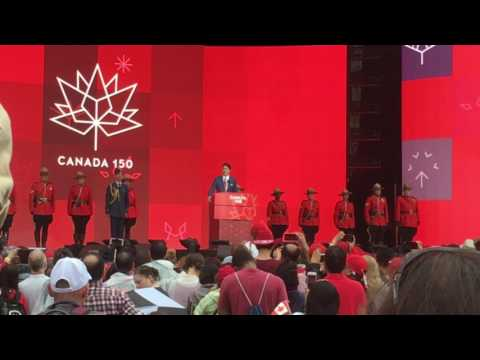 Trudeau on Canada Day 2017