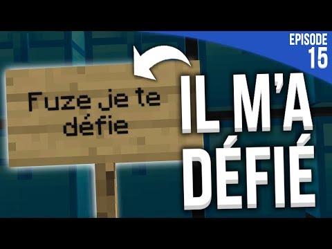 IL M'A DONNÉ UN DÉFI... | Minecraft Moddé S4 | Episode 14