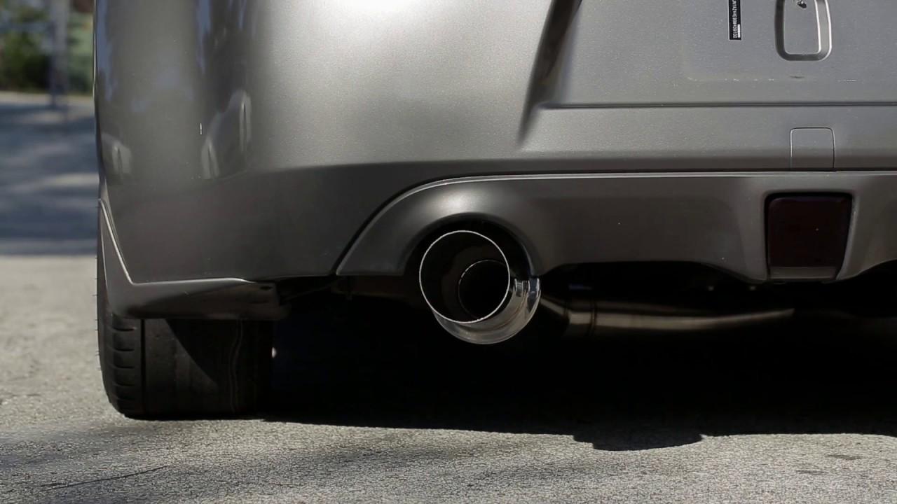 ISR Performance 370Z GT single exhaust