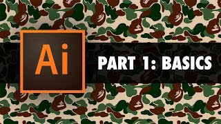 Creating your first design in Illustrator - Part 1: Basic Overview