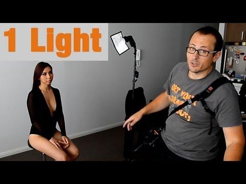LIVE Photoshoot - Single Light Portraits