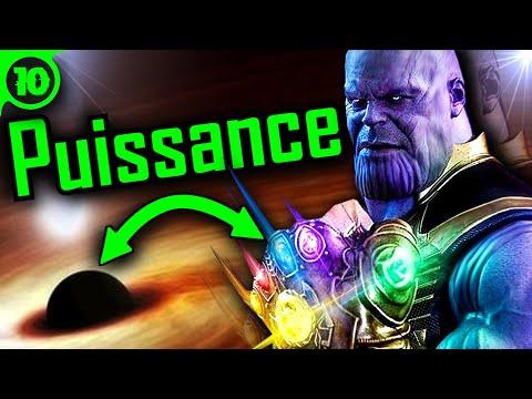 La VRAIE PUISSANCE De THANOS Via La SCIENCE (Avengers Endgame) 🌌