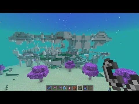Minecraft Mod Ether Part 2 สวรรค์ที่สวยงาม 55555