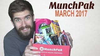 MunchPak Unboxing w/ DanQ8000 - March 2017